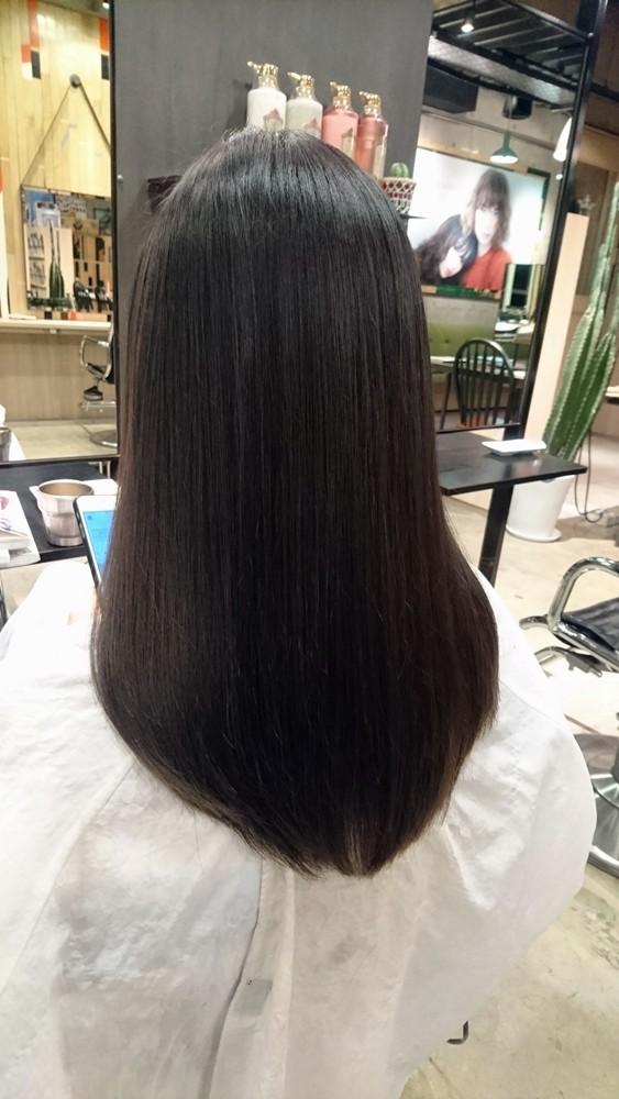 6トーンのロイヤルアッシュカラー【室内だと黒髪に見えるくらいのとことん暗い髪色】00