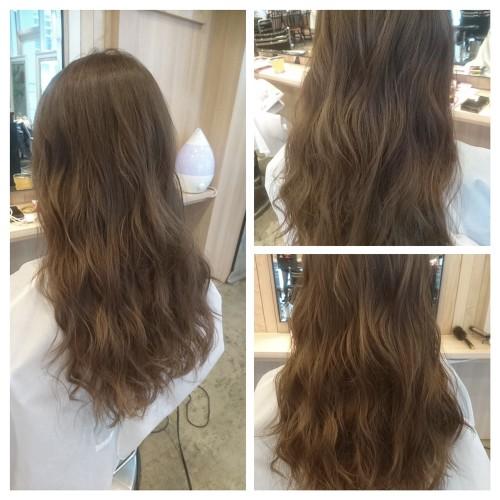 ブリーチ無しのプラチナシルバーカラー【髪のコンディションは髪色に影響する】01