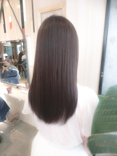 暗髪にするならこれ!1ヵ月~2ヵ月で明るくなるカラー03